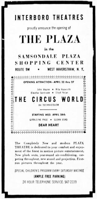 April 22nd, 1965 grand opening ad