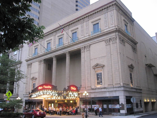 Ohio Theatre (Columbus) Front Facade and Marquee