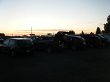 M-F Drive-In's Parking Lot Before Movie started - (07-02-16).
