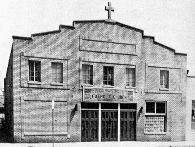 USED AS A CHURCH 1946 TO 1950