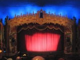 <p>A great view of the proscenium and atmospheric ceiling at the Civic (Formerly Loew's Akron) The stars and clouds both still work!</p>