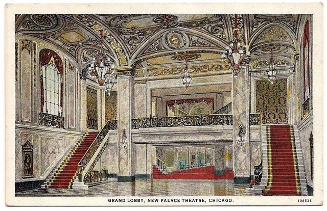 palace cadillac palace theatre chicago illinois cinema. Cars Review. Best American Auto & Cars Review