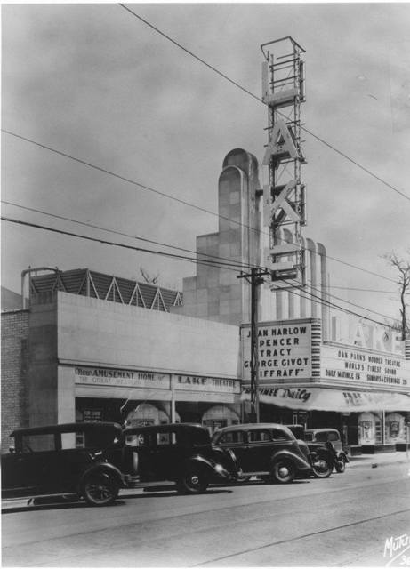 Lake Theater Oak Park IL - 1936