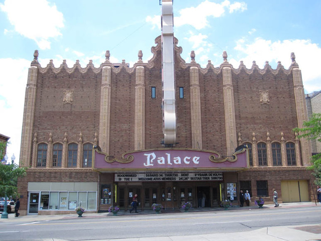 Palace Theatre, Canton, OH - front facade