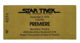 "Ticket for Premiere of ""Star Trek: The Motion Picture"""