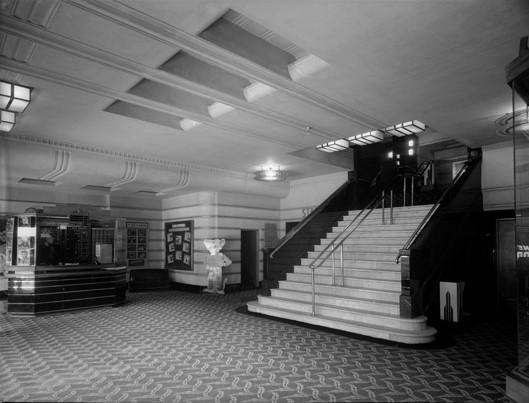 Metro upper foyer