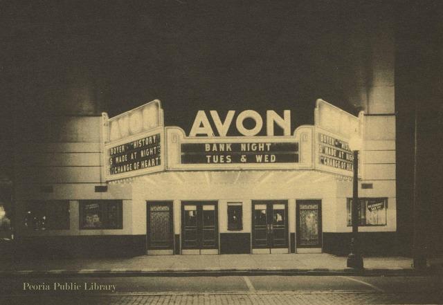 Circa 1935 photo credit Peoria Public Library.