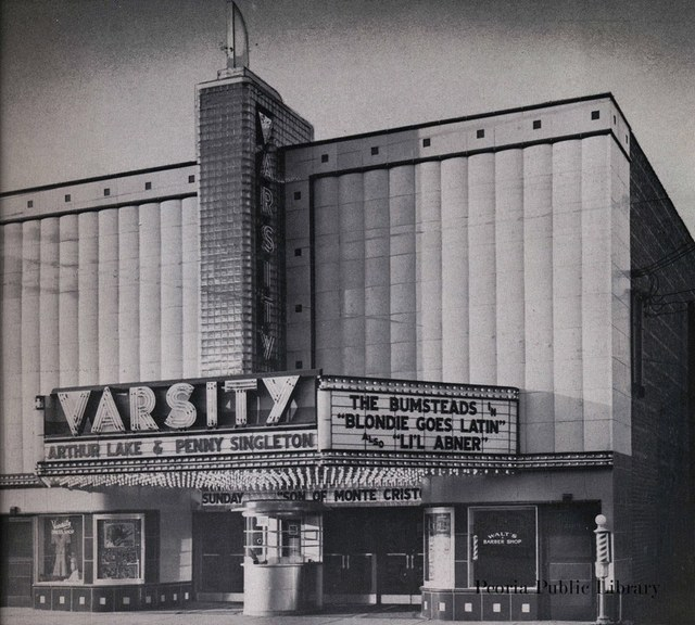 Circa 1941 photo credit Peoria Public Library.