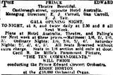November 22nd, 1924 grand opening ad