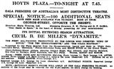 April 11th, 1930 grand opening ad