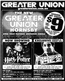 November 29th, 2001 grand opening ad