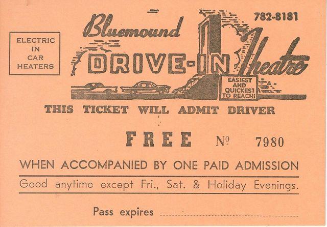 Bluemound Drive-In