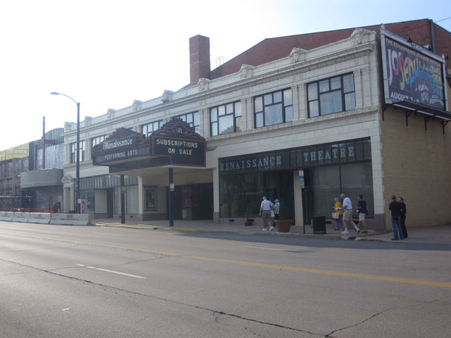 Renaissance Theatre, Mansfield, OH - front facade & marquee