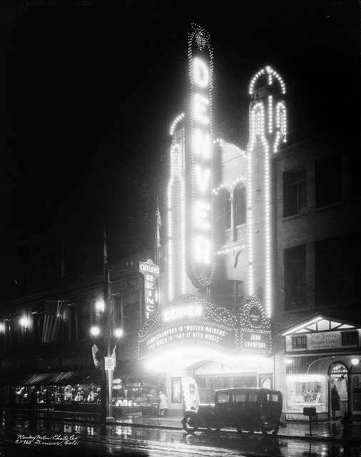 Denver Theater Nightime