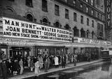 Manhunt premiere NYC ROXY Theatre 1941