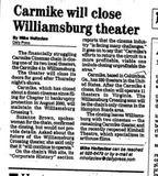 Jan 23, 2002 -Carmike Closing
