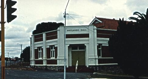 Maylands Town Hall