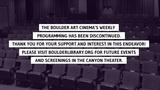 Boulder Art Cinema