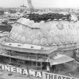 Cinerama Dome Under Construction - 1963