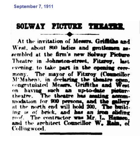 Solway Picture Theatre