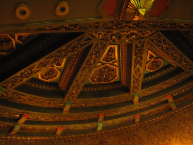 Ohio Theatre (Columbus) - ceiling detail over grand stairway