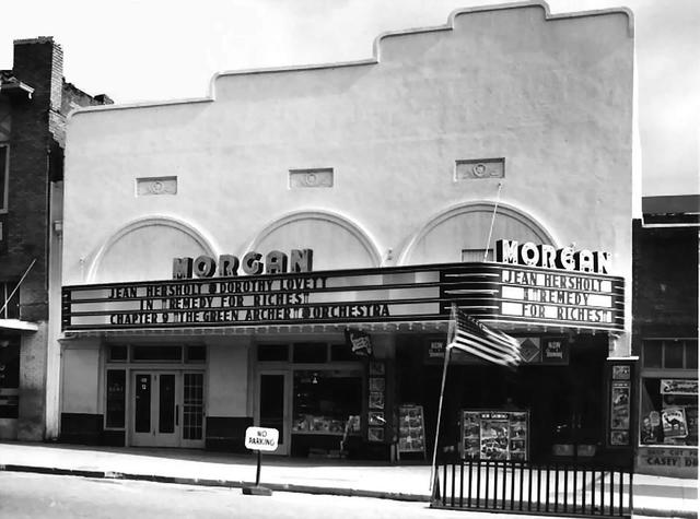 Morgan Theatre  316 Main Street, Henryetta, OK. (After Remodeling) 1940.