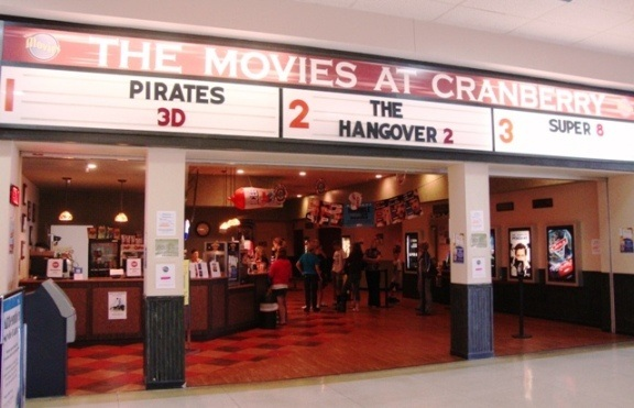 Cranberry twp pa movie theaters