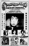 23 de de marzo de, 1980 gran anuncio de apertura con Adalberto Martínez