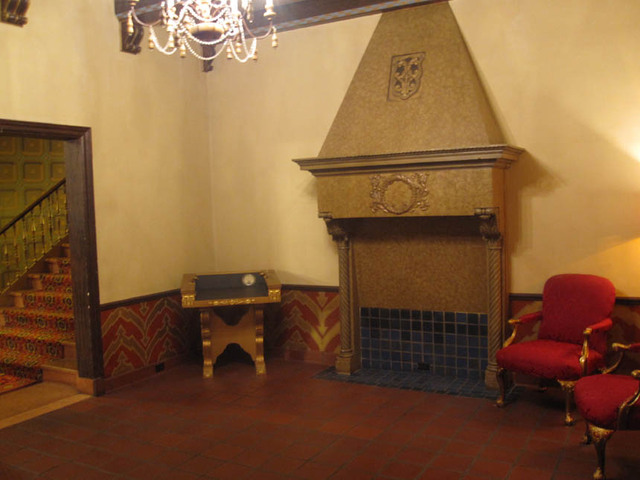 Ohio Theatre (Columbus) - Men's Lobby, Basement