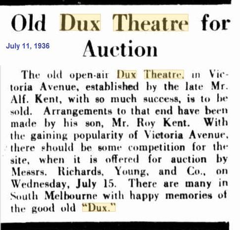 Dux Theatre