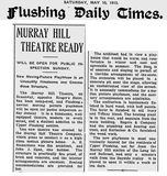 The Opening of the Murray Hill (Ritz) Theatre