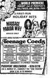 December 9th, 1975 grand opening ad as Pussycat
