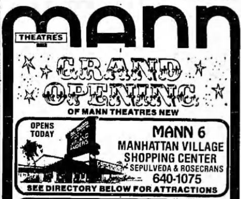 June 12th, 1981 grand opening ad