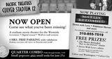 May 16th, 2003 grand opening ad
