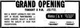 February 18th, 1970 grand opening ad