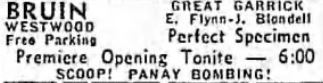 December 31st, 1937 grand opening ad