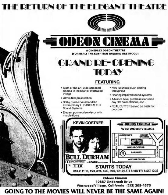 June 15th, 1988 grand opening ad