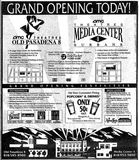 November 22nd, 1991 grand opening as AMC Old Pasadena 8