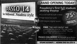 October 19th, 2001 grand opening ad