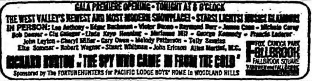 March 16th, 1966 grand opening ad