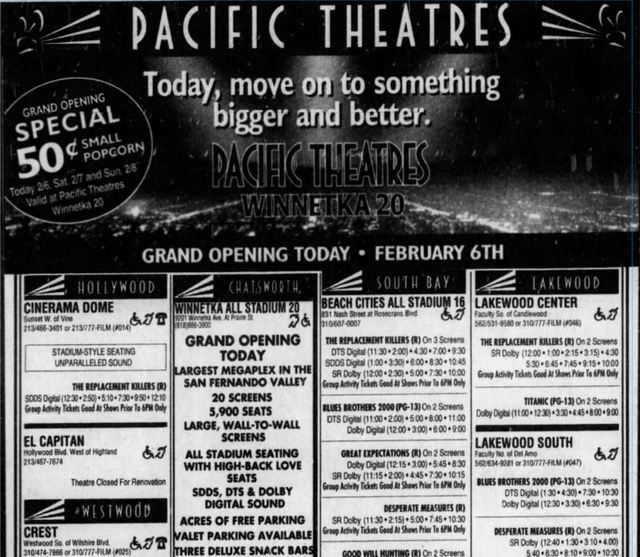Feb 6th, 1998 grand opening ad