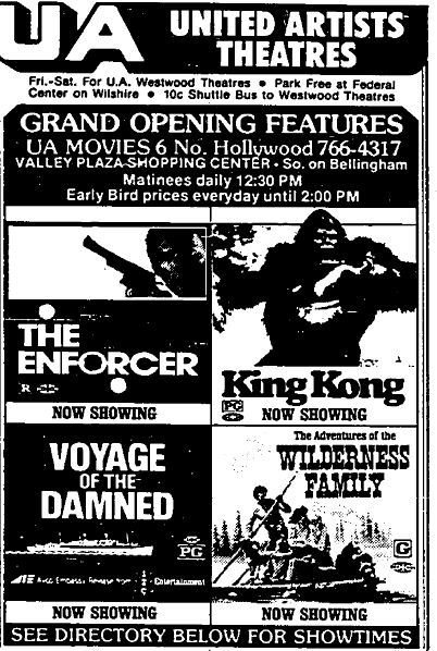 December 17th, 1976 grand opening ad