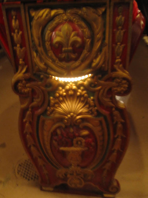 Ohio theatre (Columbus) - Seat End