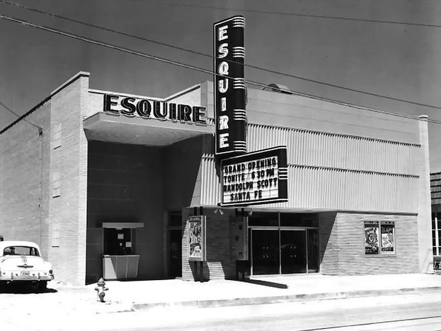 Esquire Theatre  209 North Main Street, Cleburne, TX...1951.