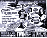 Twin Open Air Drive-In