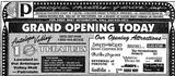 March 22nd, 1991 grand opening ad