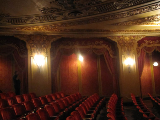 Ohio Theatre (Columbus) - rear orchestra section details