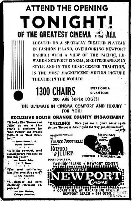 February 11th, 1969 grand opening ad