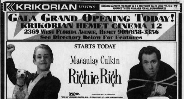 December 21st, 1994 grand opening ad