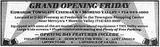 May 12th, 1989 grand opening ad